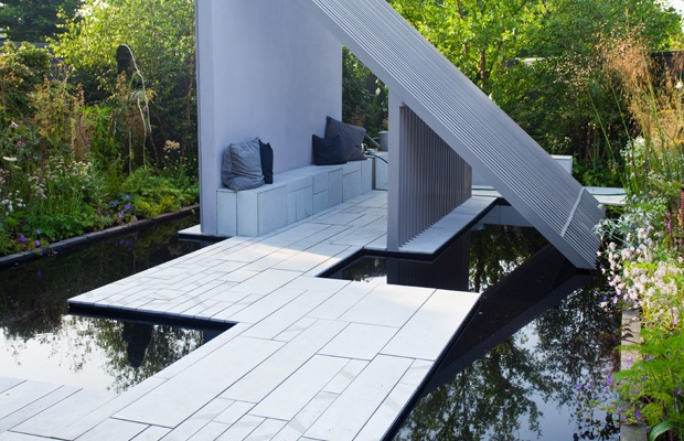 Moderne terrastegels