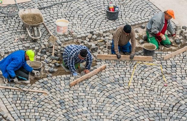 Mozaiek kasseien