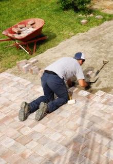 aanleggen terras