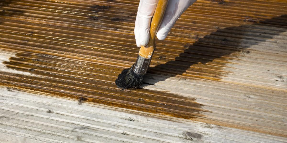 houten vlonder onderhouden