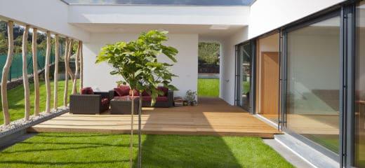 Modern terras ideeën